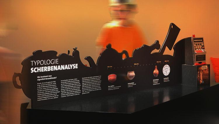 wesentlich, aachen, ausstellungsgestaltung, Szenografie, centre Charlemagne, stadtmuseum, Archäologische Ausstellung, Design, Saskia Petermann