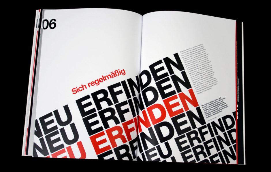 trenddossier, wesentlich, aachen, Buchgestaltung, Typografie, design award, saskia petermann
