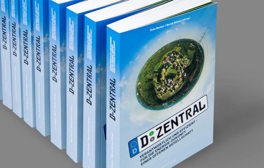 D-Zentral Buchgestaltung, Buchdesign, Verlag, Trianel, Sven Becker, Elmar Thyen, wesentlich. visuelle Kommunikation